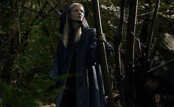 Freya Allan as Ciri on 'The Witcher'