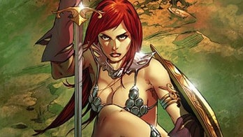 Red Sonja from Marvel Comics.