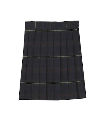 French Toast Women's Plaid Pleated Skirt
