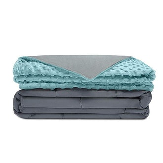 Quility Premium Adult Weighted Blanket & Removable Cove
