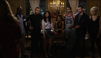 Capheus, Wolfgang, Kala, Amanita, Lito, Will, and Riley in 'Sense8'