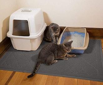 """Jumbo Litter Mat 47"""" x 36"""" Cat Litter Mat - Traps Messes"""