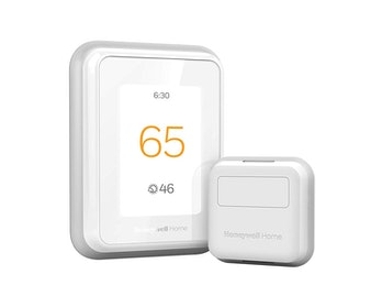 Honeywell Thermostat with Smart Room Sensor, White