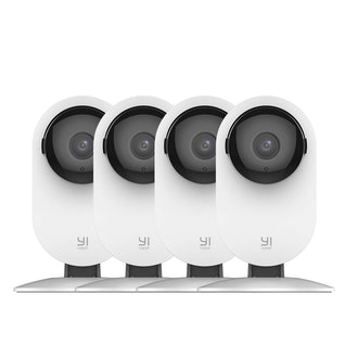 YI 4pc Home Camera, 1080p Wi-Fi IP Security Surveillance Smart System