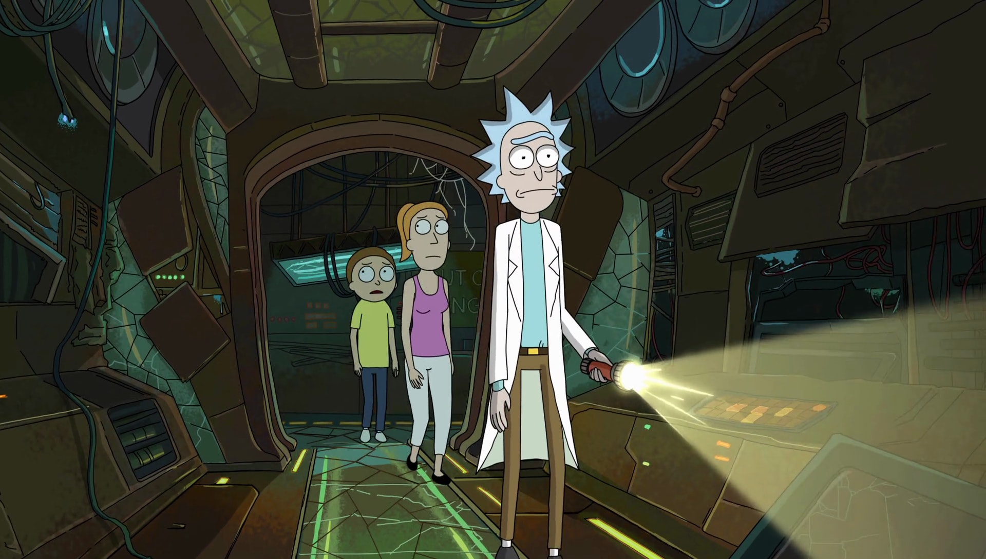 rick and morty auto erotic assimilation distress signal