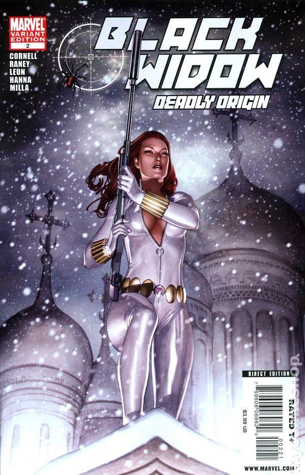 'Black Widow: Deadly Origin'