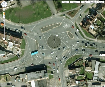 Frank Blackmore roundabout magic England UK design transportation