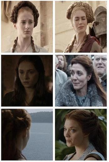 Sophie Turner as Sansa Stark in 'Game of Thrones'
