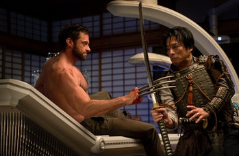 Hugh Jackman as Logan in 'The Wolverine' went to Japan to meet up with an old friend, and he fought samurai, ninjas, and mutant assassins.