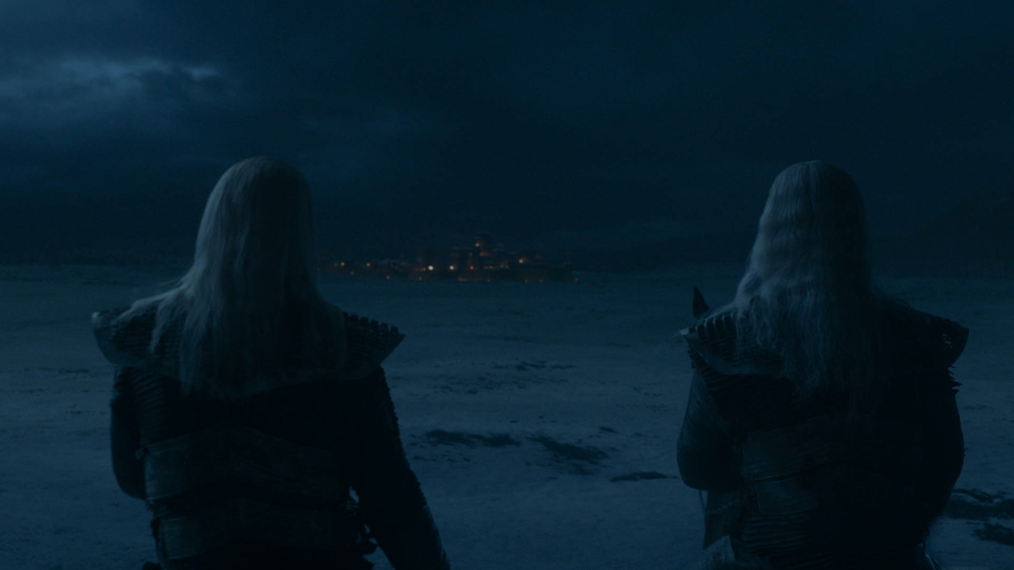 White Walkers outside Winterfell at the end of the second episode of Season 8 of 'Game of Thrones.' But where is the Night King?