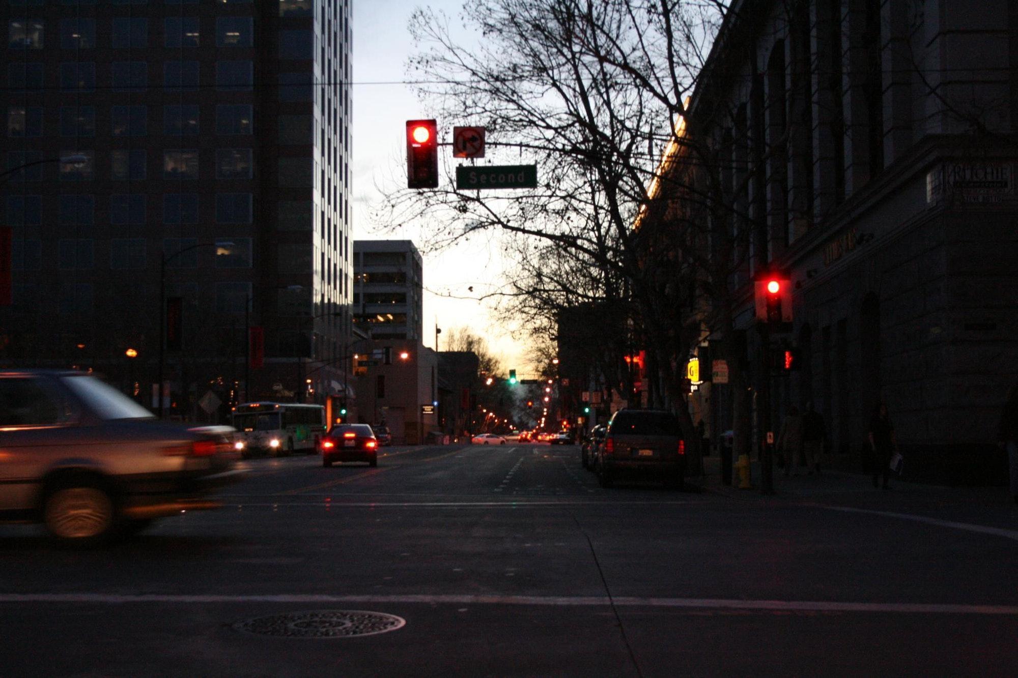 San Fernando Street in San Jose, California