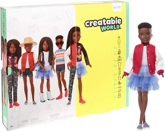 Creatable World Deluxe Character Kit Customizable Doll