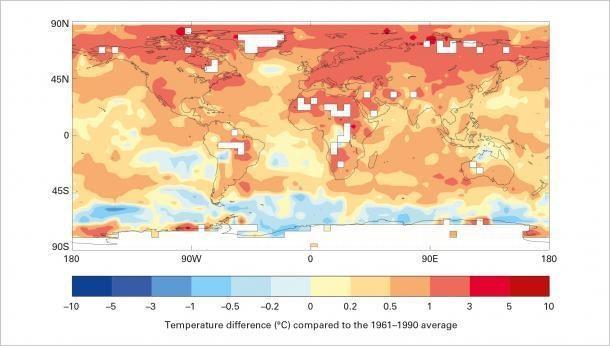 temp change map