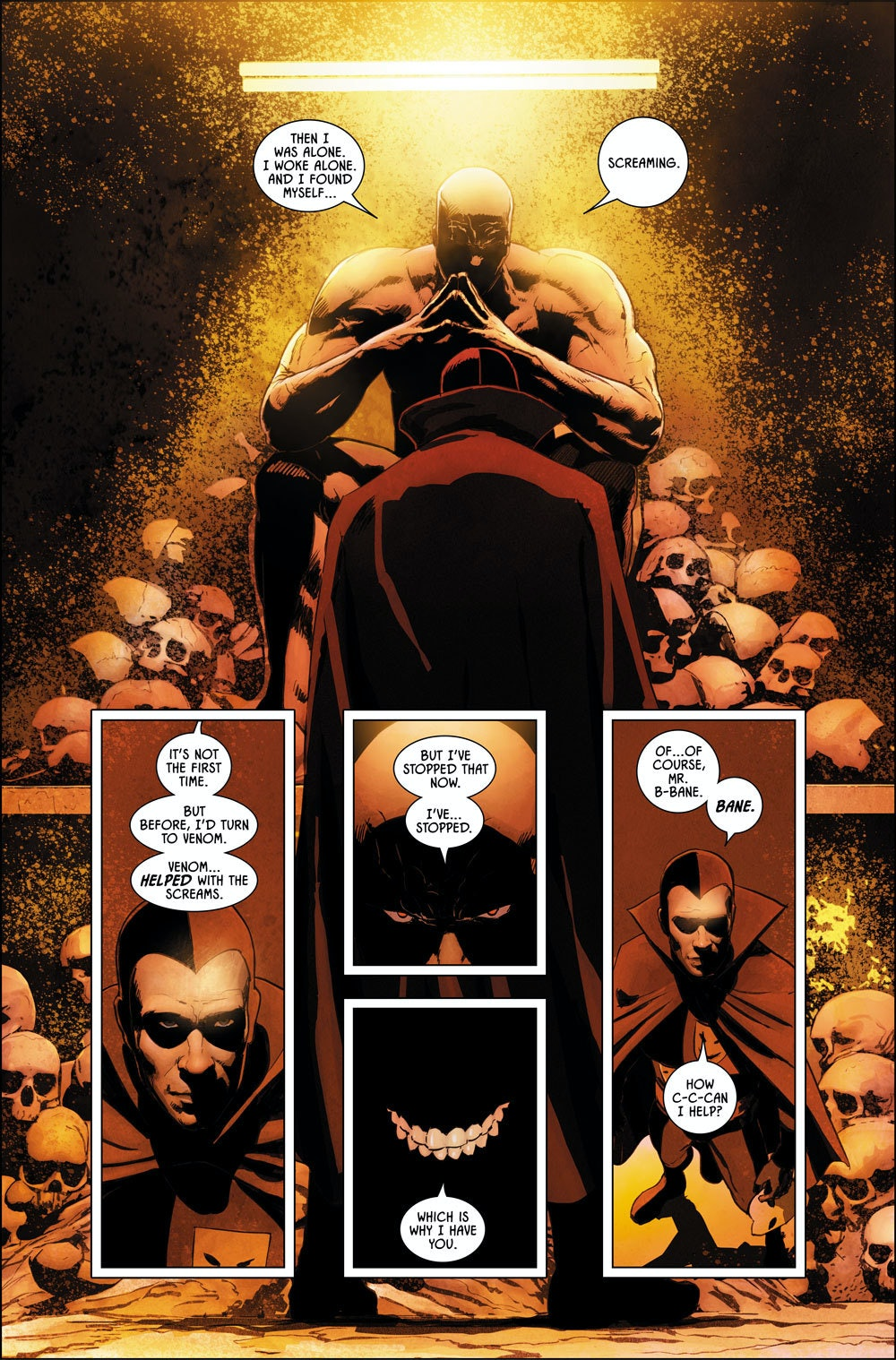 Bane in Batman #9 from DC Comics