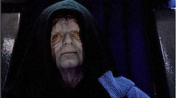 Ian McDiarmid in 'Return of the Jedi'