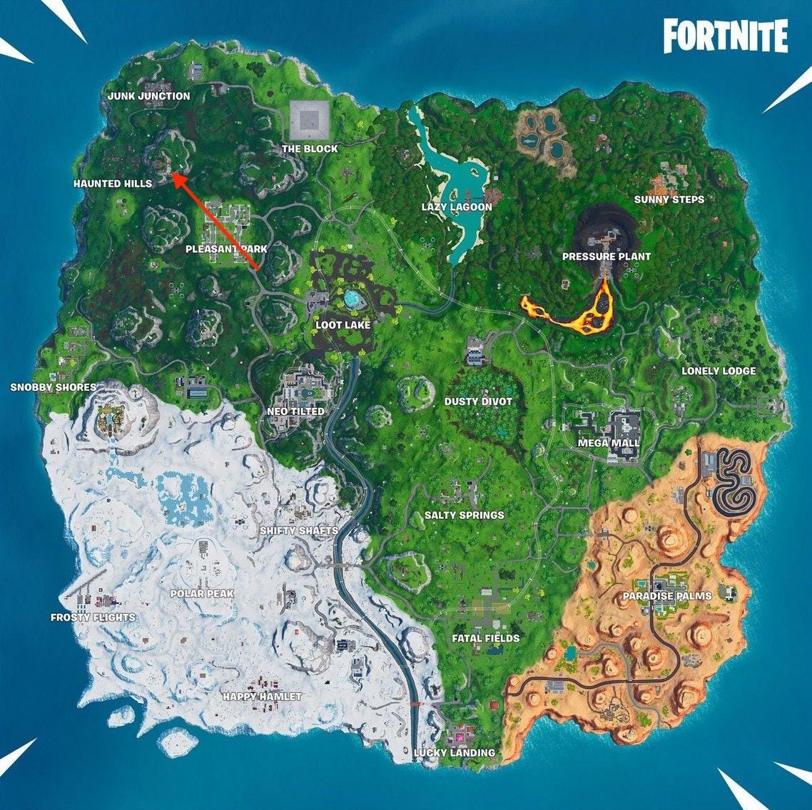 fortnite week 5 utopia map