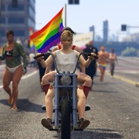 The Pride Parade Marchers are 'Indestructible' in 'GTA V'