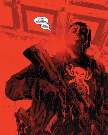 The Punisher is a Hydra member in 'Secret Empire' #3