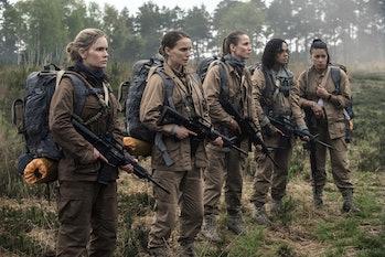 'Annihilation' sends five women on a perilousmission into the heart of a supernatural phenomenon.
