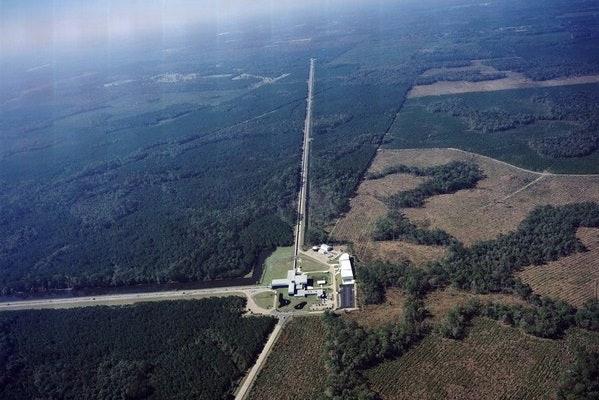Aerial View Of LIGO Livingston 599x400