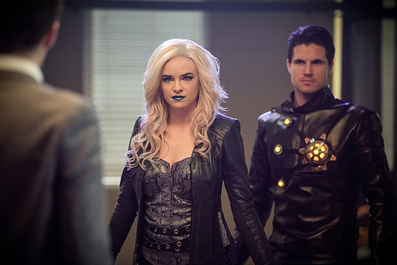 Earth-2's Killer Frost with Deathstorm, that world's version of Ronnie Raymond.