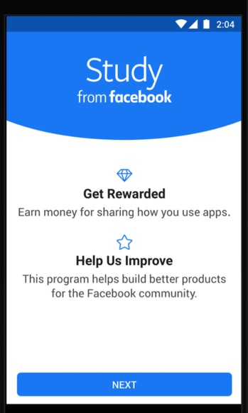 Facebook research study