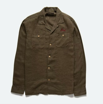 Deus Ex Machina Dean Linen LS Shirt