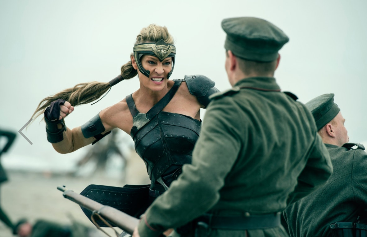 Robin Wright as Antiope in 'Wonder Woman'