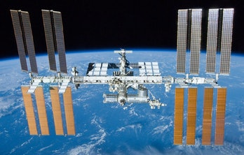ISS, international space station.