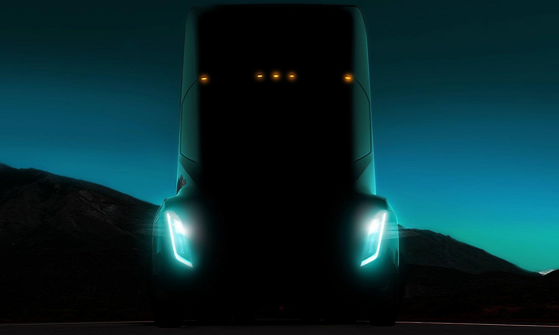 Tesla Semi promotional image