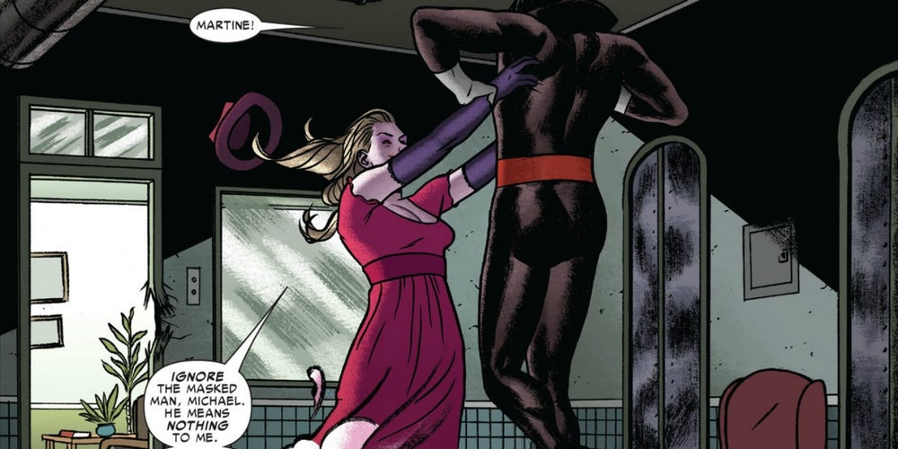 Martine Bancroft and Michael Morbius in Marvel's comics.