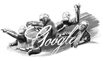 Kurt Masur Google Doodle.