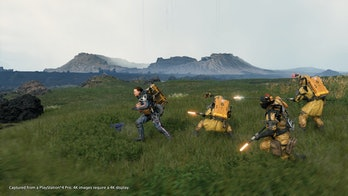 death stranding sam mules