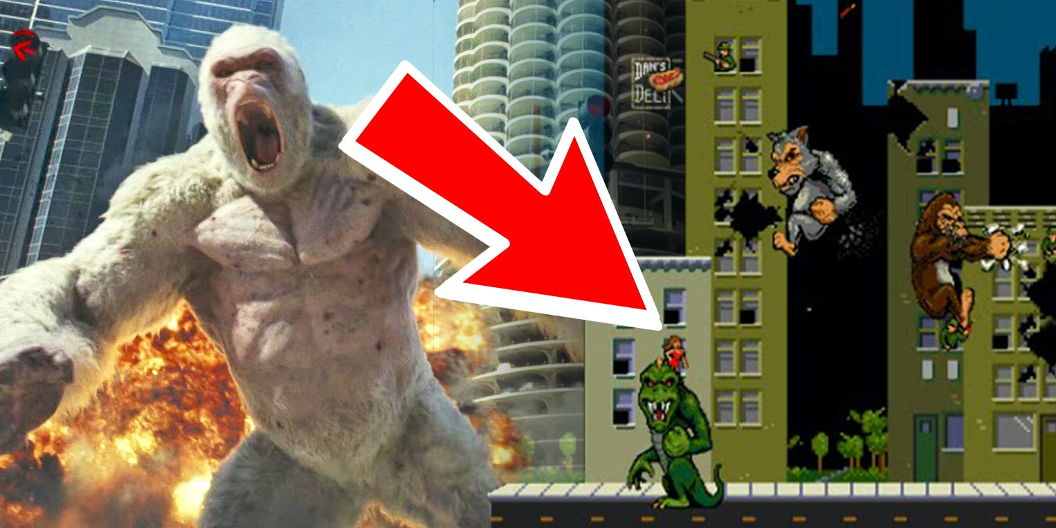 Rampage The Most Violent Moment Is Also An Easter Egg