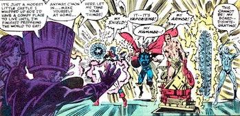 Thor hammer destroyed