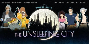 dimension 20 the unsleeping city