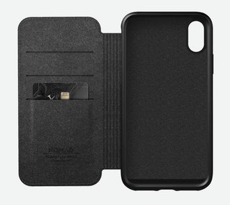 Nomad Rugged Folio - iPhone XS Max Wallet Case