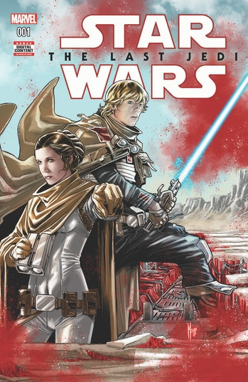 Star Wars Last Jedi Comic