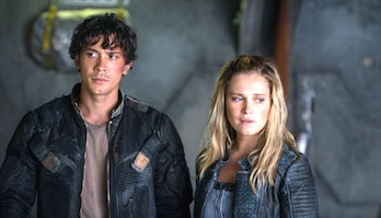"Bellarke in ""The 100"" Season 4"