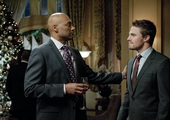 Arrow Colin Salmon Krypton