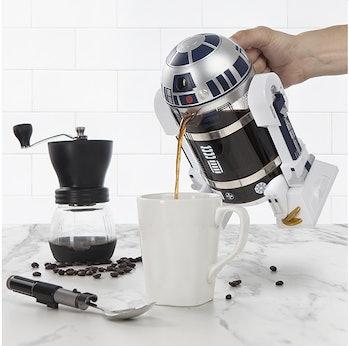 R2D2 thinkGeek Coffee Press
