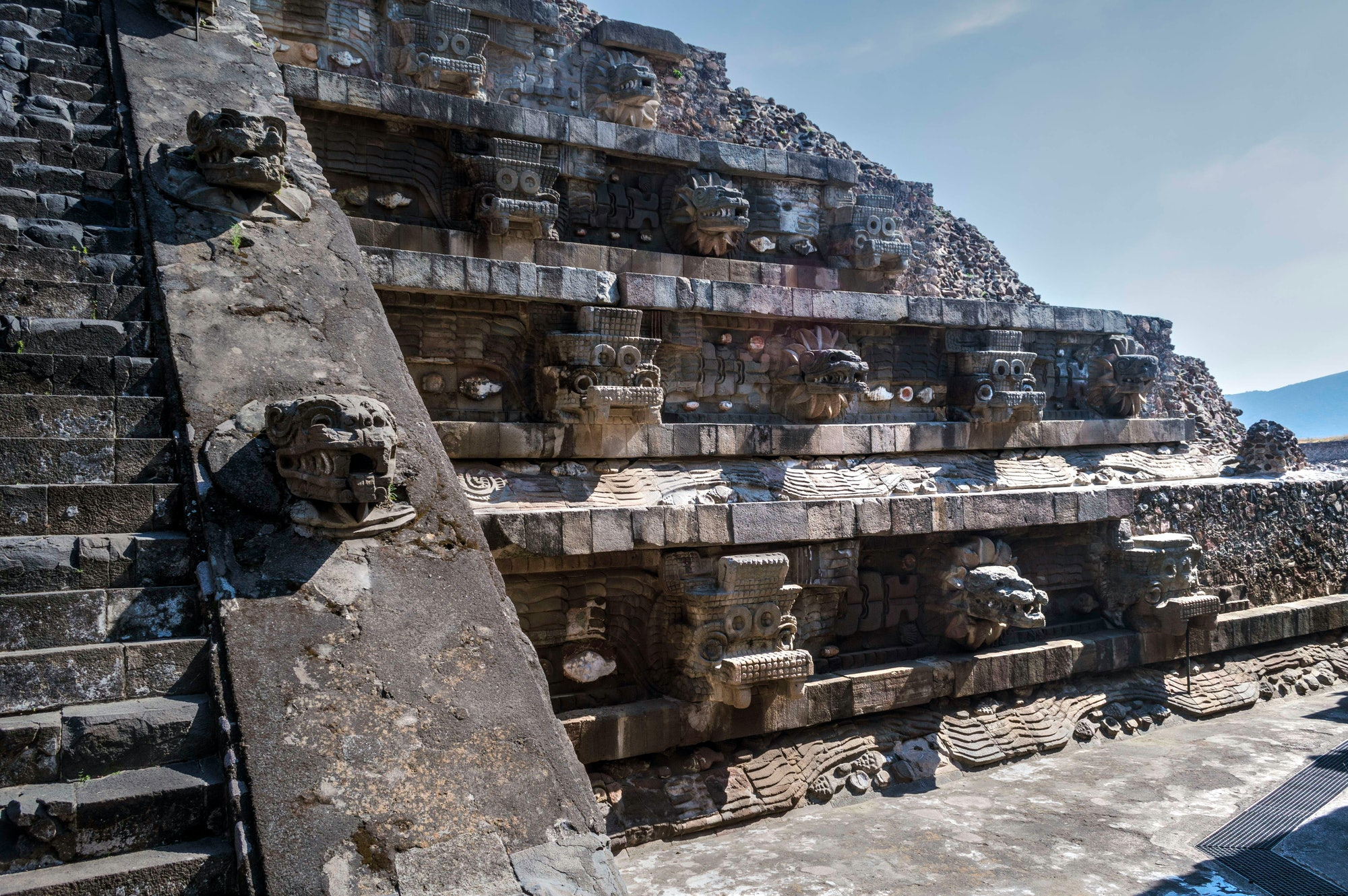 mesoamerican pyramid teotihuacan marvel eternals temple of the gods