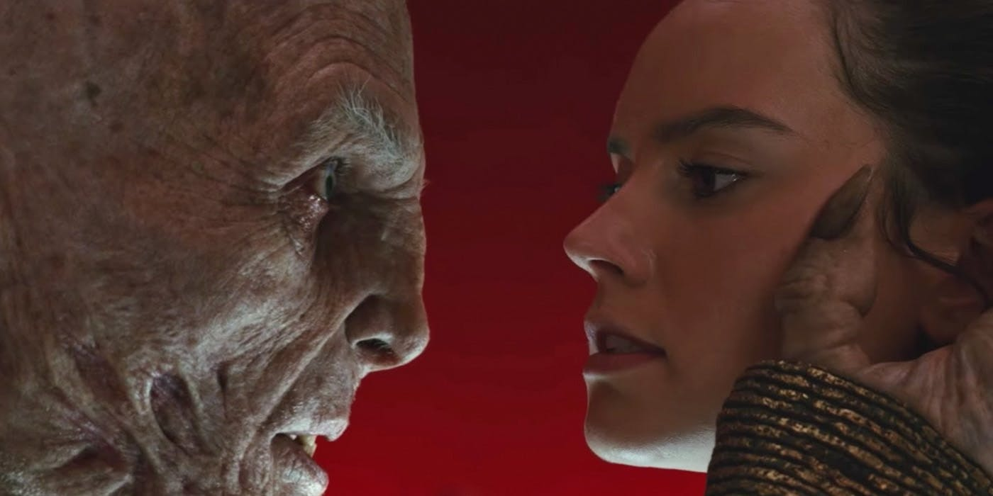 'The Last Jedi' Snoke death