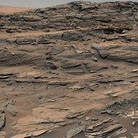 Water may once have flowed beneath Mars' surface