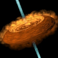 """Space Hamburger"" Imaged Around a Young Star for the First Time"
