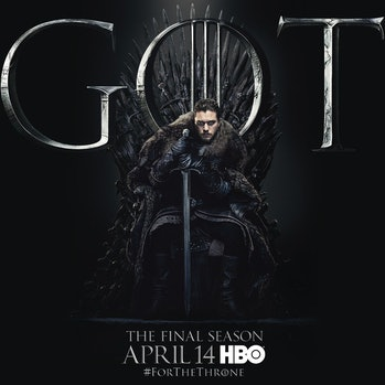 game of thrones season 8 poster jon snow