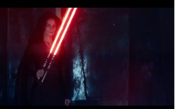 Star Wars 9 Dark Rey Red Lightsaber D23