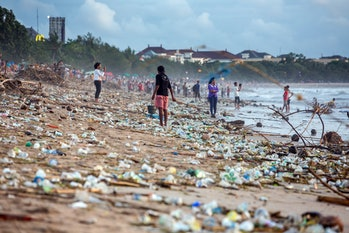 pollution, plastic