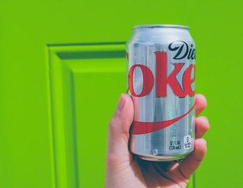 diet coke aspartame