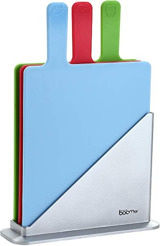 Stone Boomer 3 Piece Cutting Board Set with Stand